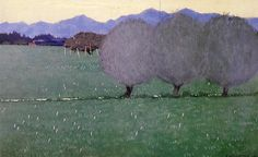 artishardgr:  Felix Vallotton - Autumn Crocuses 1900