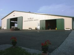 Asbury University's #Equine Center, in Wilmore, #Kentucky, where I get most of the #horse hair for my raku #jewelry.