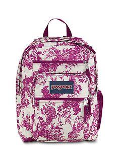JanSport - Big Student Pink Floral
