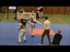Deutschland - Taekwondo Vollkontakt-Turnier nach internationalem Regelwerk 태권도