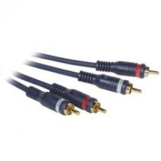 C2G - 40005 - 1.5ft Velocity RCA Type Audio Cable