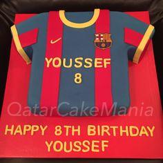 Barcelona Tshirt Cake