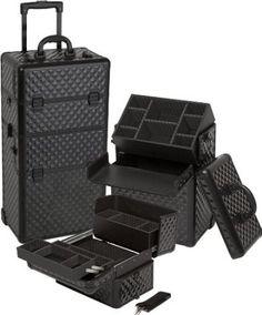 da131830f4 Amazon.com  Seya Professional Rolling Makeup Case 29