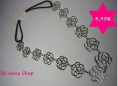 das beliebte edle Metall-Haarband im Rosen hollow-out Design nun auch in silberfarben erhältlich VK 3,95€  DaWanda: http://de.dawanda.com/product/68003923-haarband-metall-rosen-blumen-silber