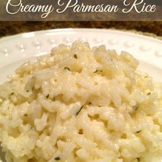 South Your Mouth: Creamy Parmesan Rice