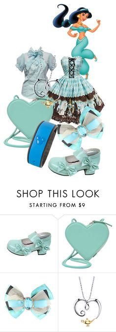 """Lolita-fy Jasmine"" by xxshemurrqueenxx ❤ liked on Polyvore featuring Disney and Christopher Kane"