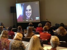 Cool Things My Friends Do: Holly Duckworth Conducts A Conference Presentation Via Skype