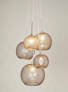 Brogan 5 Light Cluster, £150