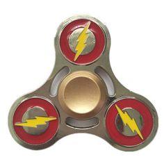 Superhero EDC Tri-spinner Fidget Zinc alloy Hand Spinner