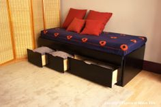 Banquette-lit avec rangement Scalpa 550