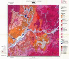 geomorphological maps of cameroon