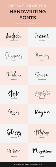 14 beautiful hand-lettered fonts for logo & branding vogue logo – brand logos - anfängliches Tattoo Wedding Typography, Typography Quotes, Fonts Quotes, Wedding Branding, Wedding Script Font, Wedding Logo Design, Art Quotes, Tattoo Quotes, Beautiful Handwriting Fonts