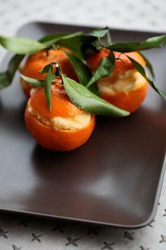Sorbetto mandarino- arancia | La Casetta delle Pesche