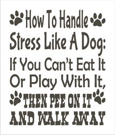 Your place to buy and sell all things handmade Dog Quotes, Animal Quotes, Funny Quotes, Life Quotes, Wisdom Quotes, Dog Stencil, Letter Stencils, Stencil Lettering, I Love Dogs