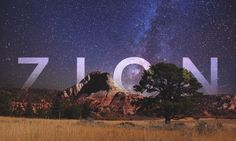 VIDEO Zion 8K, di More Than Just Parks    #timelapse #USA
