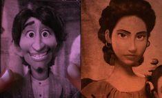 Mama Imelda y Hector de coco Pixar