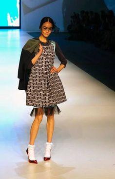 Johanna Ho at Hong Kong Fashion Week in Hong Kong.
