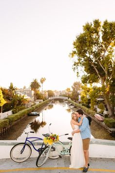 Ashley & Drew Venice Canals, Couple Beach, Venice Beach, Save The Date Cards, Engagement Shoots, Couple Photos, Couples, Blog, Couple Shots