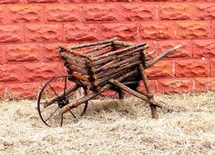 Willow Furniture #19 Wheel Barrow, by Justin Roberts