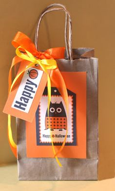 Repurposing a Brown Paper Bag -