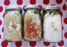 Great site for dehydrated meal recipes in mason jars that last several years