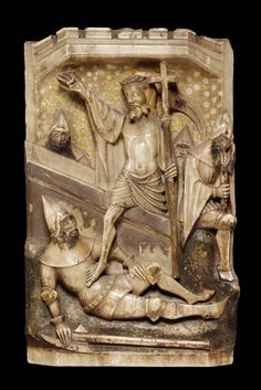 Altarpiece of the Passion of Christ, Alabaster Sculpture from the Victorian and Albert Museum