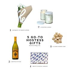 5 Go-To Hostess Gifts