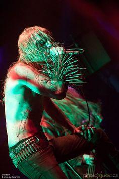 Hans Fyrste of Norwegian Black Metal band Svarttjern.