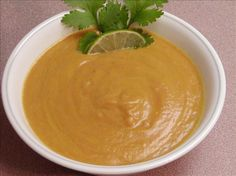 Thai Pumpkin Soup. vegan.  dont use dry lemongrass