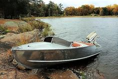 1958 Feathercraft Vagabond Boat & 1958 Johnson Super Seahorse