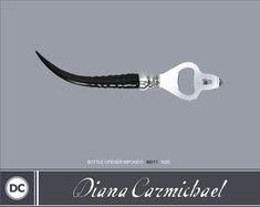 Bottle Opener - Impondo Zulu Collection - Diana Carmichael design. Shop now at www.Goodieshub.com