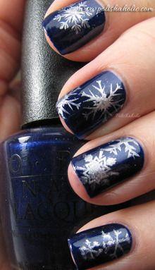 #NailArt #Noël #vernis