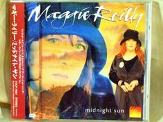 CD/Japan- MAGGIE REILLY Midnight Sun w/OBI RARE ORIGINAL 1993 TOCP-7987 #PopRockSoftRock