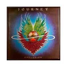 Journey Album Art now featured on Fab. Rock N Roll Music, Rock And Roll, Journey Albums, Cool Album Covers, Vinyl Junkies, Great Albums, Set Me Free, Cursed Child Book, Music Lovers