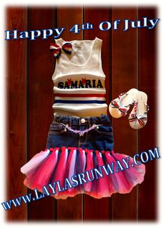 America Tutu Outfit(Choose Your Name) Logan's Locker Layla's Runway specializes in creating unique personalized apparel and accessories with a great look for your little boys or girls of all ages. Our personalized apparel products make great personalized gift ideas for friends and family and are perfect for new born babies, toddlers, teens birthdays, family reunions, fundraisers, special occasions. Whether its one item or one hundred, we look forward to gearing you up with our unique…