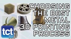 How to choose the best metal 3D printing process | Fraunhofer | TCT Show #SamiraGruber #3DP #Metal #AM