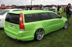 Smooth looking V70 spotted at the Vallakra Traffen show.