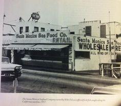 Santa Monica Seafood, Ocean Ave., 1957