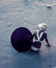 Toni Garrn by Camilla Åkrans for Vogue Italia May 2014