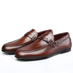 186.00$  Watch more here - http://aiiht.worlditems.win/all/product.php?id=32762770873 - TERSE_Handmade genuine leather loafers men shoes engraving casual shoes in 2 colors goodyear welted footwear factory price