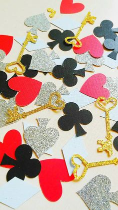 Alice in Wonderland Confetti.Mad Hatter Confetti. by Cravefetti