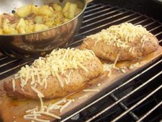 Cedar Planked Chicken, a recipe I wrote for La Prensa San Diego