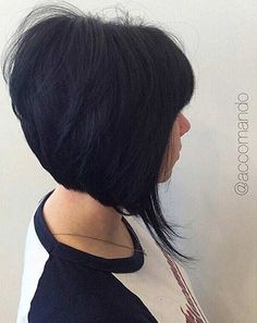 11. Short & Sleek Inverted Bob This is such a fashionable cut. Just look at that volume! This sleek graduated bob is perfect for any and all occasions. Work, parties, even going to the supermarket. You'll be the envy of each woman you pass in the aisle. This style would look stunning in any colour. …
