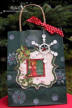 Christmas Gift Bag by RitaS