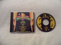 Mighty Morphin Power Rangers The Album: A Rock Adventure CD RARE OOP #TVScoreSoundtrack