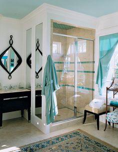 Southern Living Idea House - eclectic - bathroom - charleston - Margaret Donaldson Interiors