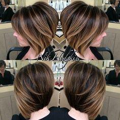 20 On-Trend Balayage Short Hair Looks