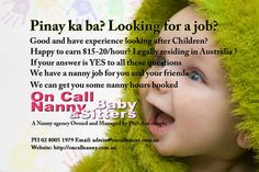 on call nanny referral service in Sydney australia Sydney Australia, Live In Nanny, Nanny Jobs, Free Classified Ads, Need Someone, 1 Year Olds, This Or That Questions, Children