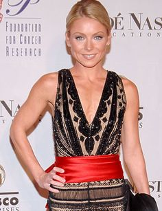 I don't watch TV really, but I see Kelly Ripa (without sound) at the gym. I have a similar size and build to hers and think that her dresses and overall style would be perfect on me.
