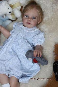 "New Reborn Toddler Doll Kit Chanelle By Jannie De Lange @26""@"
